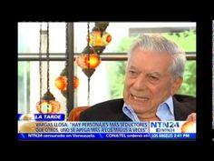 Mario Vargas Llosa habla sobre Gabriel García Márquez y cuestiona al rég...