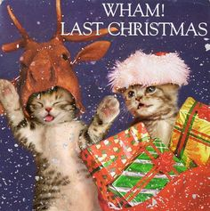 And a classic single for the holidays! Last Kitmas… I gave you my heart…