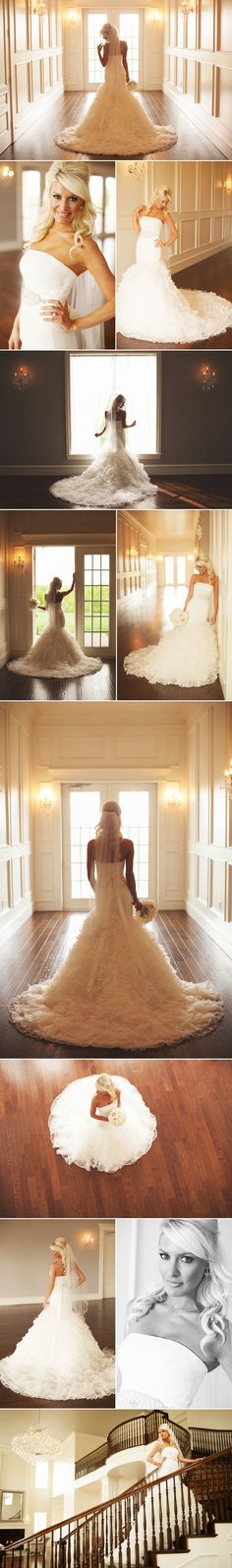 Bride photo poses. I love all of these!