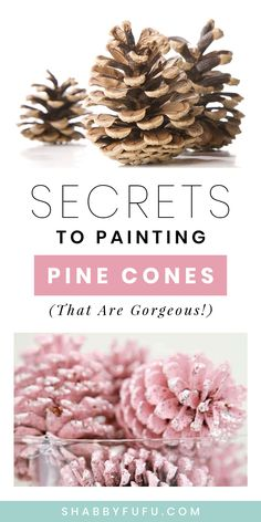 Pinecone Crafts Kids, Fall Crafts, Decor Crafts, Holiday Crafts, Pine Cone Crafts For Kids, Pinecone Decor, Nature Crafts, Christmas On A Budget, Pink Christmas