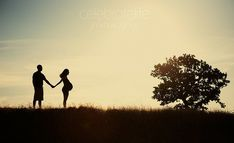 Sunset Pregnancy Photography Maternity Baby Bump