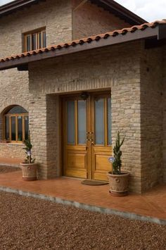 25 Elegant and Beautiful Entrance Design Ideas For Your Home Spanish Style Homes, Spanish House, House Front, My House, Design Exterior, Rural House, Entrance Design, English House, Beautiful Villas