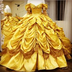 Beauty and The Beast Belle's dress