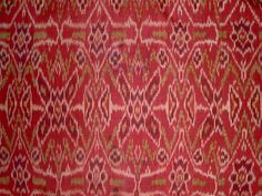 Cepuk, ritual cloth, Nusa Penida off Bali. Silk, weft ikat, early 20th century. RANGDA-BLACK MAGIC-PUBERTY-DEATH. The great protective and exorcistic power of cepuk cloths of Bali and Nusa Penida islands is evident through their role in nearly all forms of Balinese ritual - for the gods and for the living, for the deceased and for the demons who trouble the order of the world.