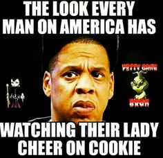 LOL TRUE STORY AND OUR MEN SHOULD BE VERY AFRAID #Empire #TeamCookie
