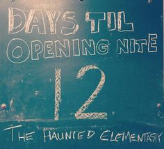 We #Open in 12 days!! Time is really of the essence! #HauntedElementary #BridgeportMI #HauntedHouse #SaginawMichigan #Scary