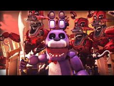 [SFM FNAF] Five Nights at Freddy's Animation Compilation (FNAF Animations) - YouTube
