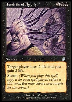 Tendrils of Agony ($1.04) Price History from major stores - Scourge - MTGPrice.com Values for Ebay, Amazon and hobby stores!