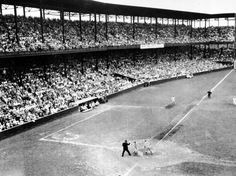 Sportsman's Park in St. Louis (AP Photo)