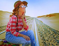 """Check out new work on my @Behance portfolio: """"waiting alone """" http://on.be.net/1LlXUTy"""