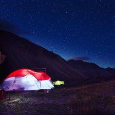 Glowing tent #mdzphoto