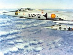 The Spanish Air Force was the only Air Force in the world, who did not lost any F-104G! They won the Lockheed trophy.