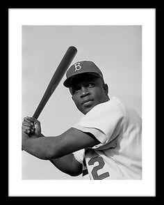 Brooklyn Dodgers JACKIE ROBINSON 11X14  Photo Print Baseball World Series