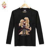 2105 japonais anime classique NARUTO Gaara manches longues t chemise pour hommes et femmes unisexes occasionnels confortable t-shirt