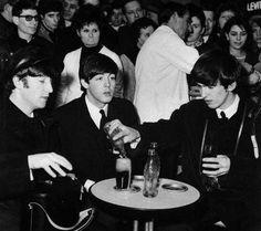 John, Paul and George