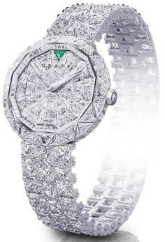 Graff Diamonds Lady's Watch. Who cares what time it is! LOL