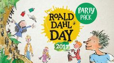 Tomorrow is Roald Dahl Day - what would have been the author's 101st birthday. Take a look at how you can join in the celebrations!