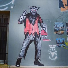 Loup-garou #suriani #streetart