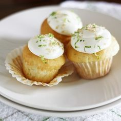 Mini Gin  Tonic Cupcakes.