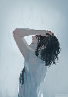 Ideas For Drawing Anime Crying Manga Girl Anime Girl Crying, Sad Anime Girl, Kawaii Anime Girl, Anime Art Girl, Manga Girl, Anime Love, Manga Anime, Anime Girls, Drawing Of Girl Crying