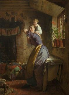 The Happy Mother - George Elgar Hicks