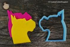Boxer Head Cookie Cutter