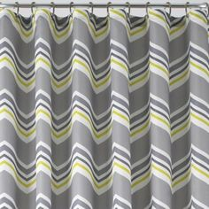 Studio Suite Chevron Shower Curtain  found at @JCPenney