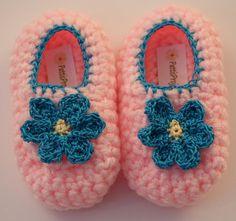 Infant Flower slippers