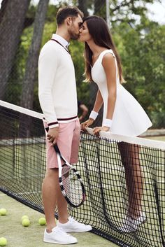 White tennis dress!