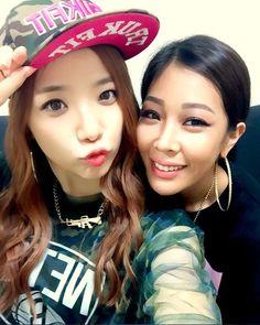 Tymee and Jessi (Unpretty Rapstar)