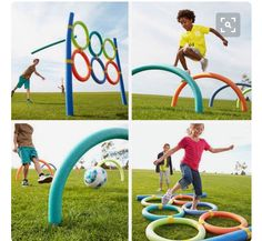 NOODLE GAME/OBSTACLE COURSE