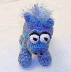 Crochet Pony by thecrafter on Etsy, $15.00