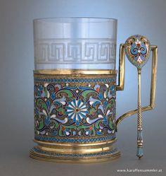 Russian tea glass holder