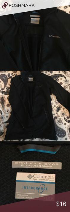 Columbia jacket Columbia Omni-wick XS women's jacket, black Columbia Jackets & Coats