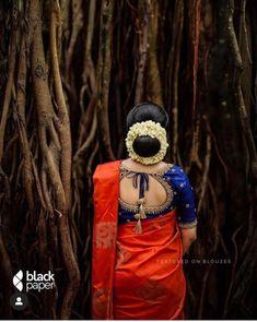 Kerala Hindu Bride, Kerala Wedding Saree, Kerala Saree Blouse Designs, Wedding Saree Blouse Designs, Wedding Saree Collection, Wedding Silk Saree, Indian Bridal Fashion, Saree Trends, Stylish Sarees