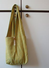 Doni's Delis: A little tutorial - one strip bag- use long swatch?