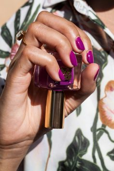 Purple Passion, one of our go-to nail polishes
