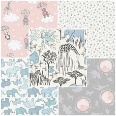 Welcome To The World - Lewis & Irene Fabric | Fat Quarter Pack One | Empress Mills