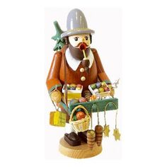 Glaesser Toy Vendor Smoker - http://christmasshortstory.com/shop/shop/incense-smokers/glaesser-toy-vendor-smoker/