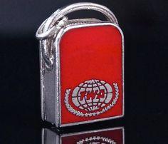 Fine Charms & Charm Bracelets Beautiful Rare Vintage Silver Bracelet Charm Of A Travel Suitcase Flight Bag Jewellery & Watches