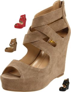 DV by Dolce Vita Women's Jude Wedge Sandal.  Various colors available at different price points.  Desert Suede Shown Here.$59.90 - 89.90 ~ The Stilush Team