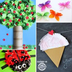 35+ {Adorable} Tissue Paper Crafts – Kids Activities Blog