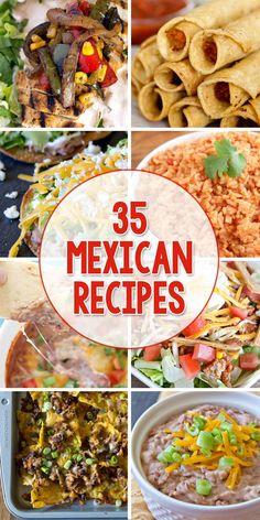 35 Mexican Recipes for Cinco de Mayo | Yellow Bliss Road