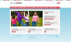 Villa Hope - web design