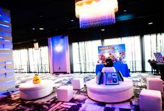 iPhone App Theme Bar Mitzvah Lounge, Teen / Kids Section {Planning: Party Perfect, Photographer: Jennifer Werneth} - mazelmoments.com