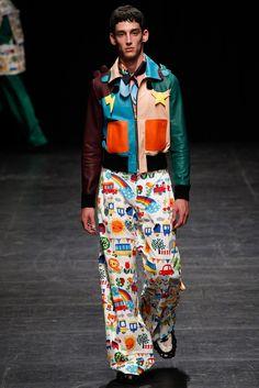 Jacket Inspiration: Walter Van Beirendonck Spring 2016 Menswear Fashion Show