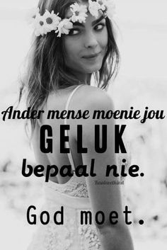 Met God as jou anker het jy als wat jy nodig het Words Of Wisdom Quotes, Jesus Quotes, Bible Quotes, Bible Verses, Bible Emergency Numbers, Afrikaanse Quotes, Identity In Christ, Godly Woman, Good Morning Quotes