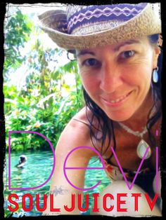 This is me LOVING MY LIFE in Bali, at a freshwater spring on the east coast. Utter paradise. #grateful #blessed #devisouljuice from #souljuicetv