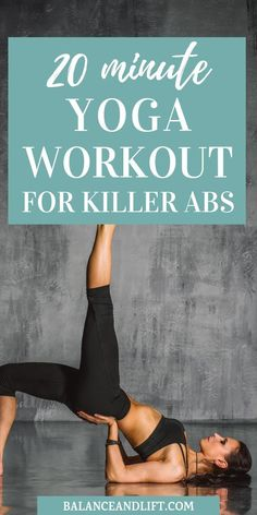 Core Workout: Yoga Workout for Killer Abs Trying to build your abs with yoga? Check out these poses to really rock your yoga abs.Trying to build your abs with yoga? Check out these poses to really rock your yoga abs. Yoga Beginners, Core Exercises For Beginners, Workout For Beginners, Beginner Yoga, Yoga Fitness, Physical Fitness, Fitness Style, Fitness Humor, Fitness Design