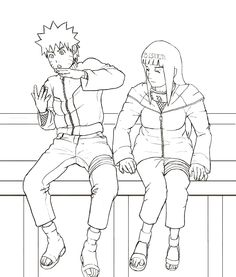 Naruto And Hinata Coloring Pages